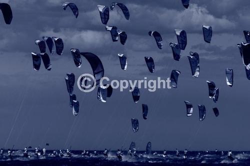Kitesurfing images,kiteboard race start line,Mondial du Vent, Leucate South of France,Kites,kitesurfers,