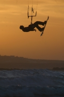Kitesurfer,kiteboard,sunset,deadman,Mike