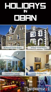 Holidays in Oban - B&B / Guest House and Accomodation