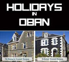 Holidays in Oban