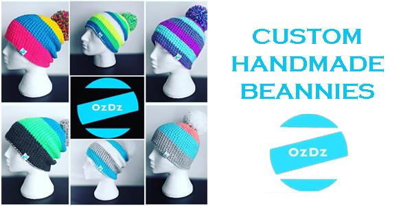 Custom Handmade Beanies by OzDz