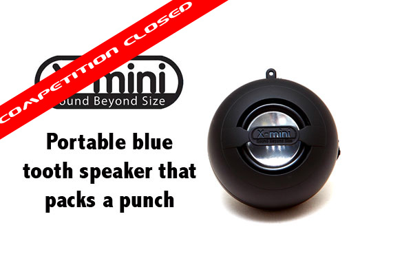 Win an Portable X mini Speaker