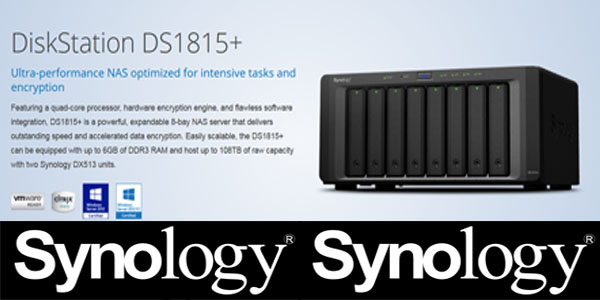 Synology Network Attached Storage DS1815+