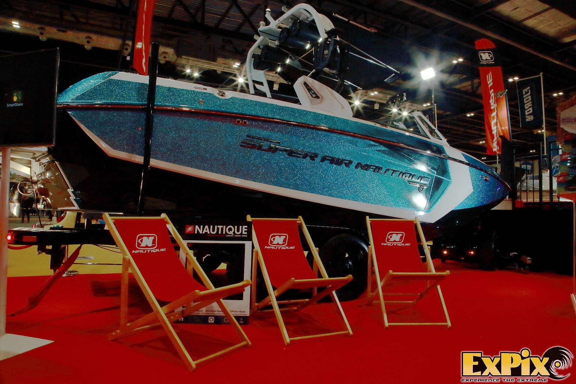 Nautique Boats at the London Boat Show ExCel