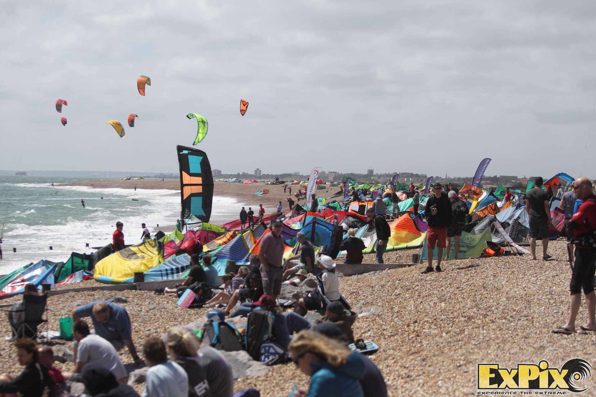 Virgin Kitesurfing Armada Hayling Beach